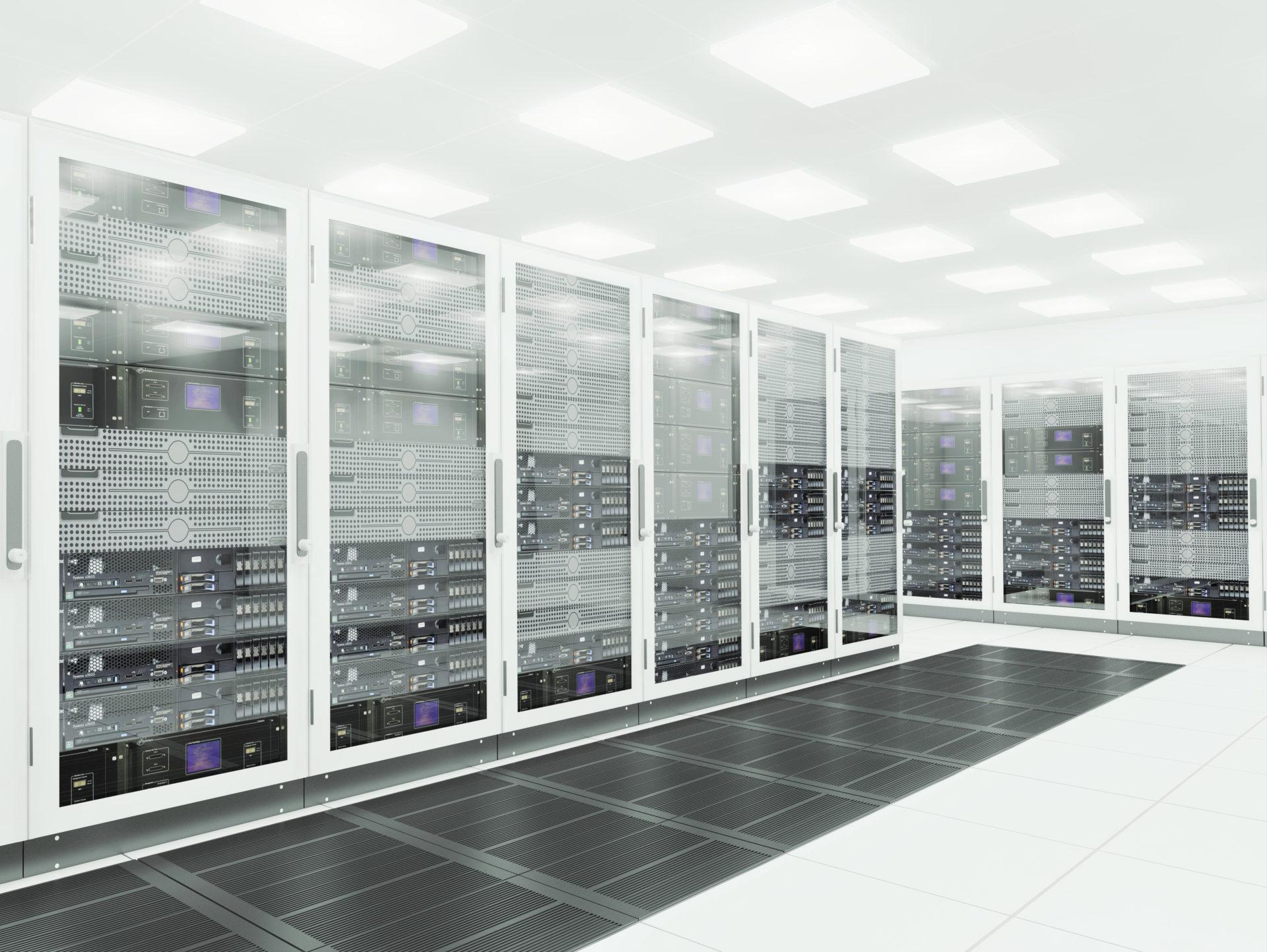 room full of servers